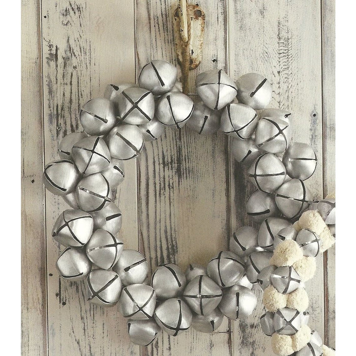 Jingle Bell Wreath-Large - Holiday_Winter