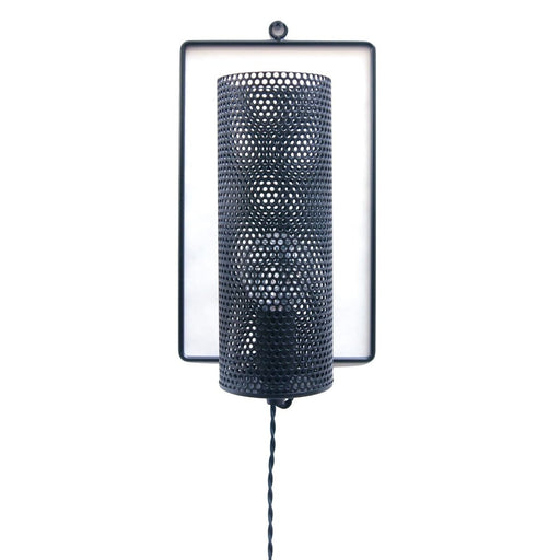 Metal Rectangle Black Wall Light - Lighting_Wall