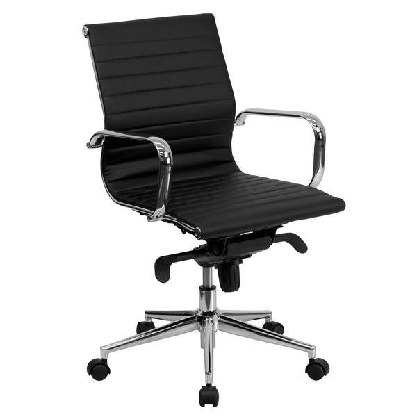 Cool Desk Chairs Black Modern Office Chair