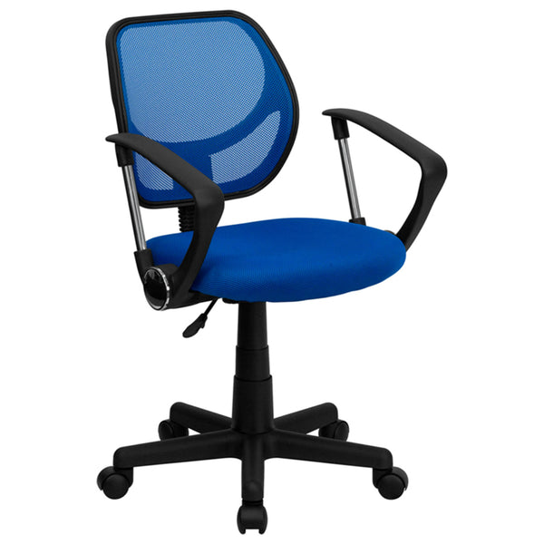 Cool Desk Chairs Blue Mesh Office Chair