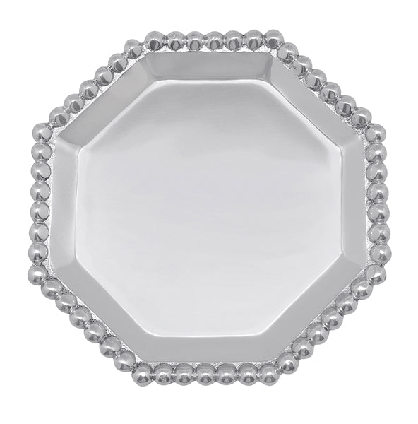 Beaded Octagonal Canape Plate