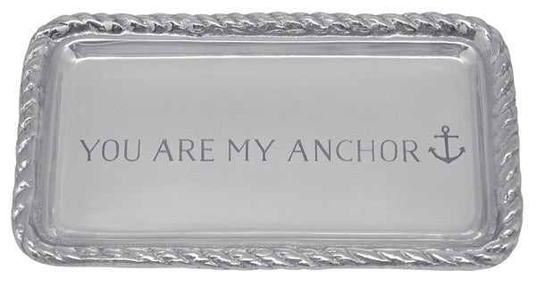 You Are My Anchor Rope Tray