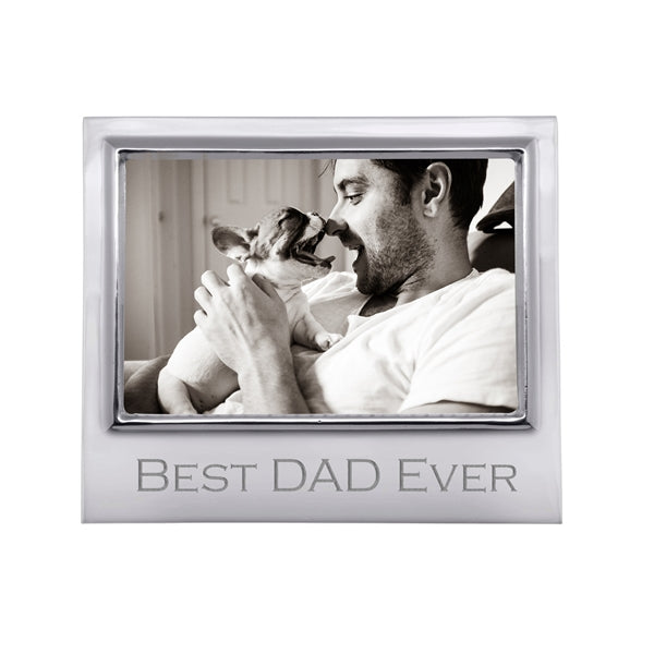BEST DAD EVER 4x6 Frame