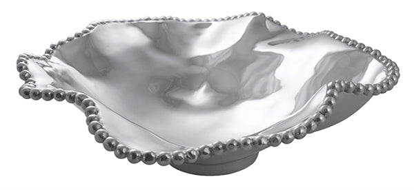 Pearled Wavy Large Serving Bowl