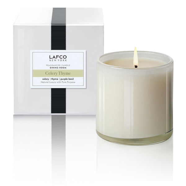 Celery Thyme Lafco Candle