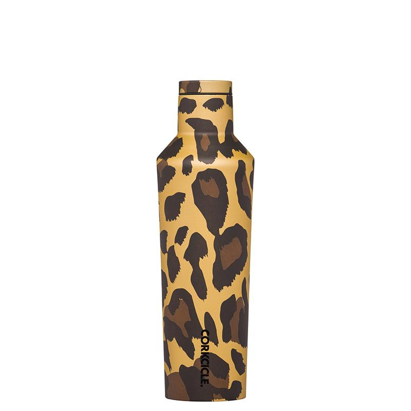 Luxe Leopard Canteen 16oz