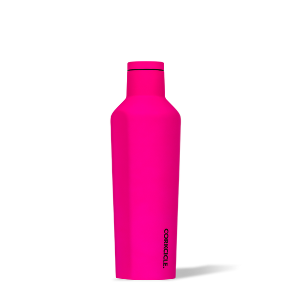 Neon Pink Canteen