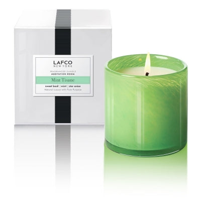 Mint Tisane Lafco Candle