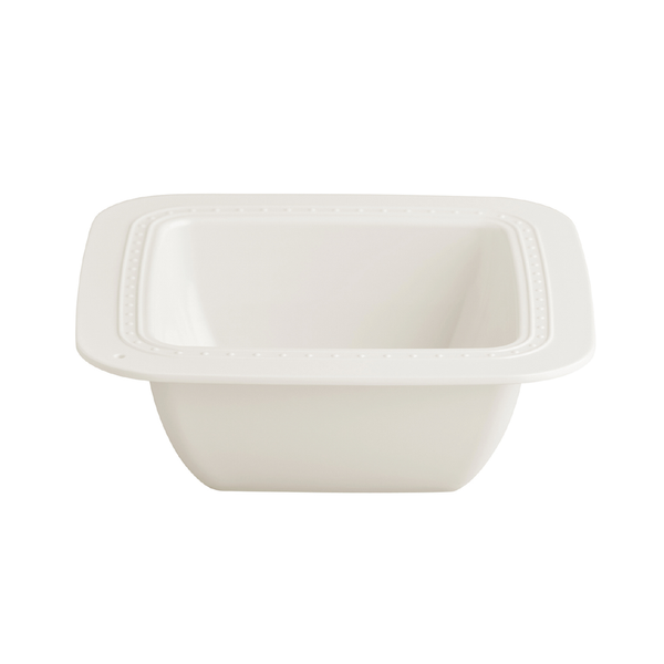 A melamine bowl on a white background.