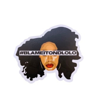 #BlameItOnDlolo Sticker