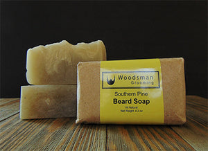 Southern Pine Beard Soap Review