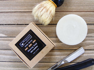 Shave Soap and shaving brush