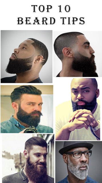 Top ten beard tips for a healthy beard