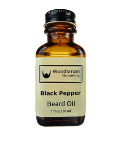 Black Pepper Beard Oil