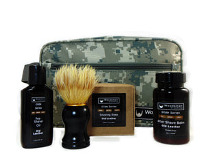 Shave Travel Kit with Digital Camo Bag