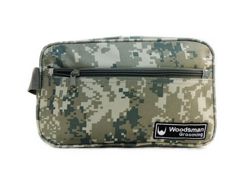Digital Camo Travel Dopp Bag