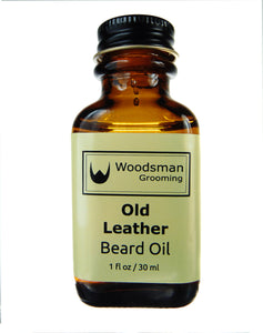 Old Leather Beard Oil