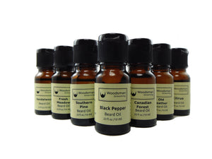 Sample beard oils