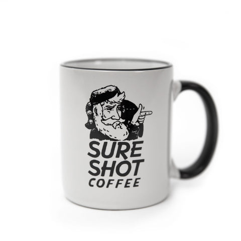 Sure Shot Logo Mug