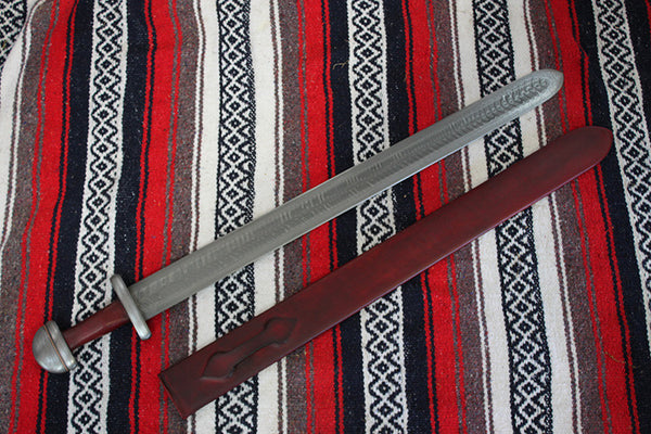 Pattern Welded Viking Sword (2 bar)