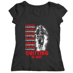 Quitting Is Not Acceptable