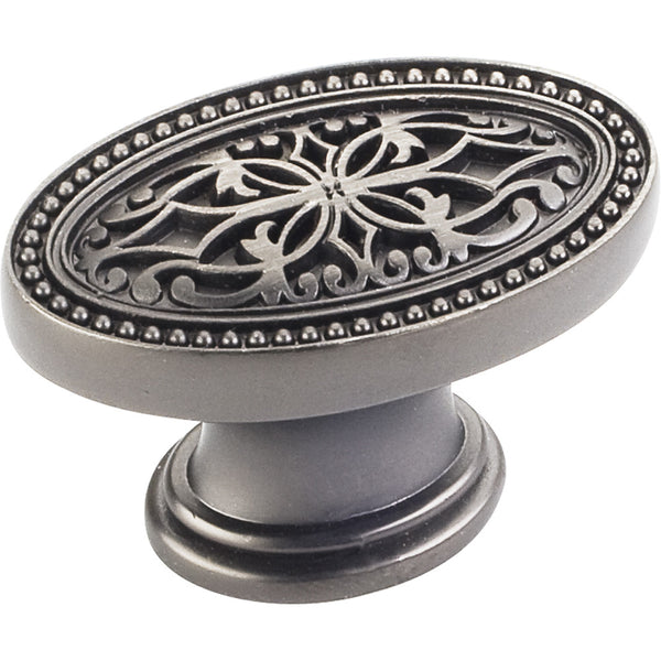 "Decorative 1-3/4"" Round Cabinet Knob Various Finishes"