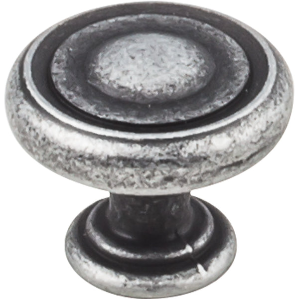 "1-1/4"" Button Round Decorative Cabinet Knob Various Finishes"
