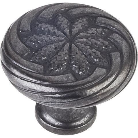 "1-1/8"" Diameter Harvest Wheat Round Decorative Cabinet Knob Various Finishes"