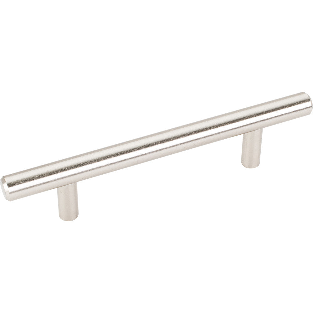 154mm Bar Round Plain Cabinet Pull with Beveled Ends Stainless Steel Finish