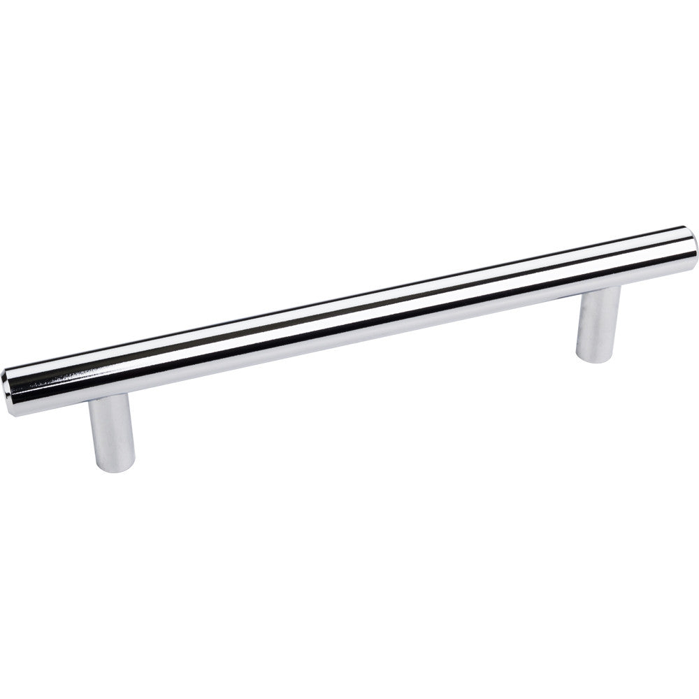 174mm Bar Round Plain Cabinet Pull with Beveled Ends Various Finishes - DecorativeResources.com
