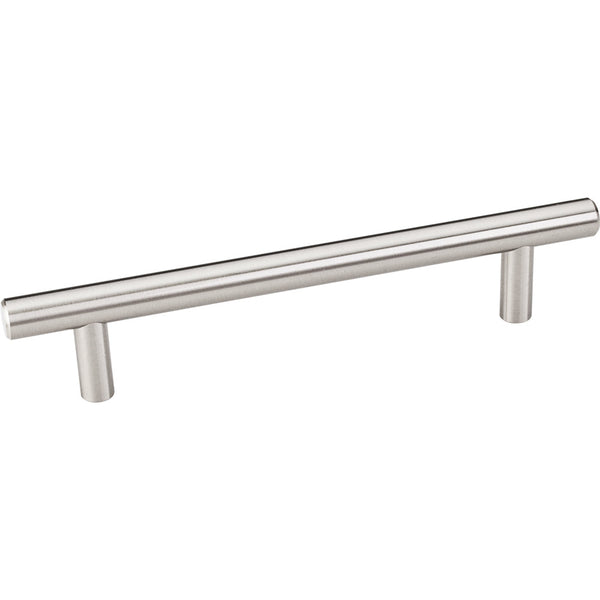 174mm Bar Round Plain Cabinet Pull with Beveled Ends Various Finishes