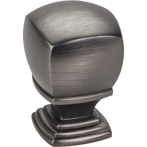 "1"" Square Decorative Cabinet Knob Various Finishes - DecorativeResources.com"