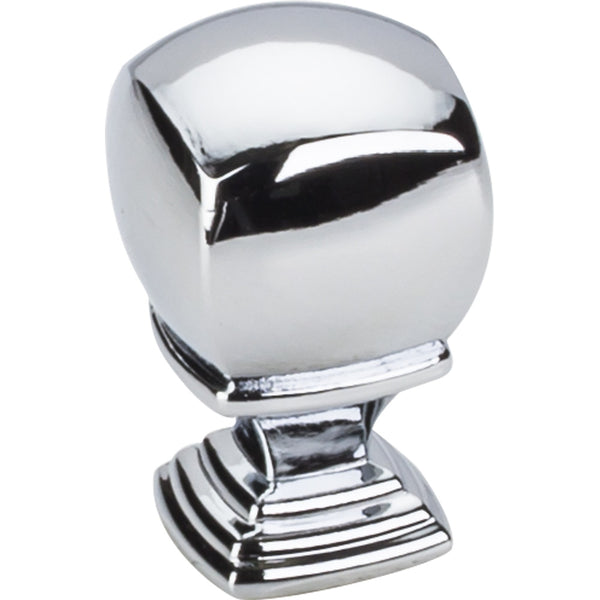 "7/8"" Square Decorative Cabinet Knob Various Finishes"