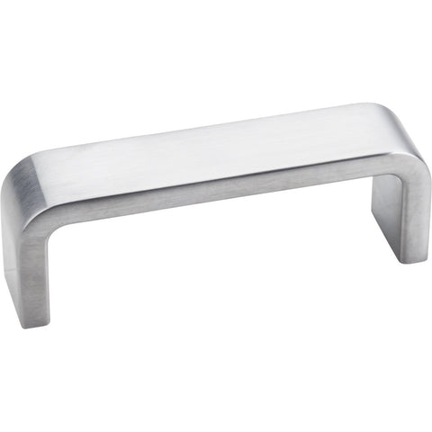 "3-1/4"" Zinc Die Cast Square Plain Cabinet Pull Various Finishes - DecorativeResources.com"