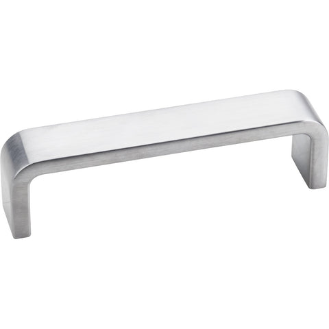 "4"" Zinc Die Cast Square Plain Cabinet Pull Various Finishes - DecorativeResources.com"