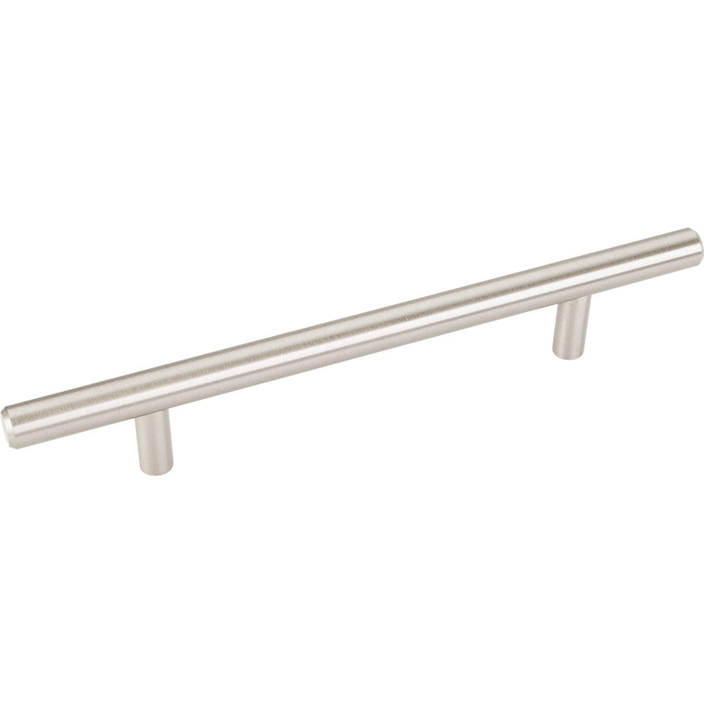 204mm Bar Round Plain Cabinet Pull with Beveled Ends Stainless Steel Finish