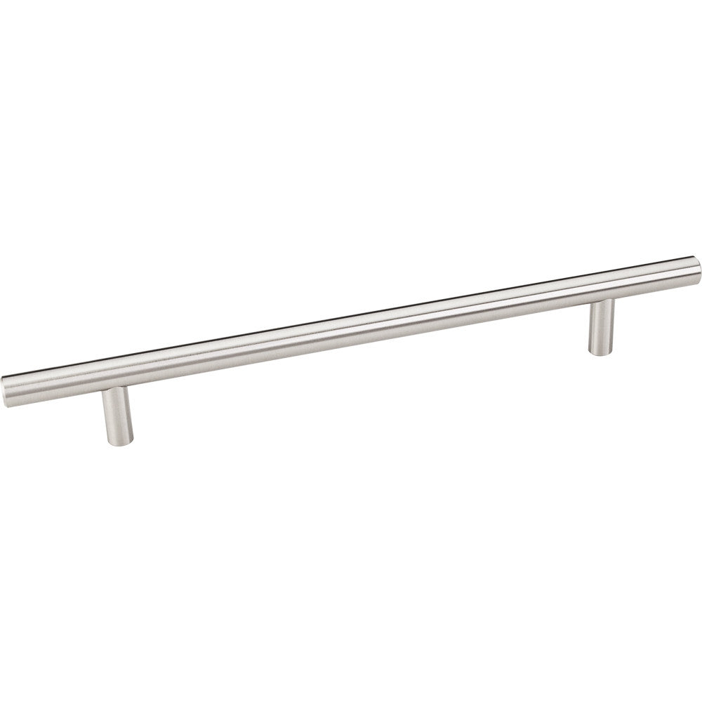 270mm Bar Round Plain Cabinet Pull with Beveled Ends Stainless Steel Finish