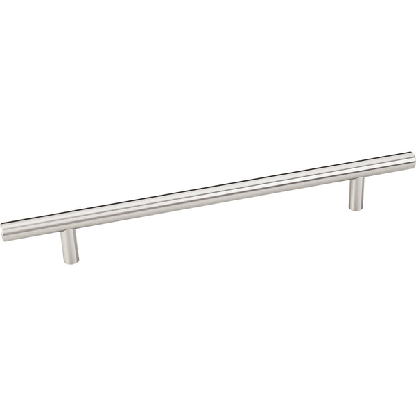 272mm Bar Round Plain Cabinet Pull with Beveled Ends Various Finishes