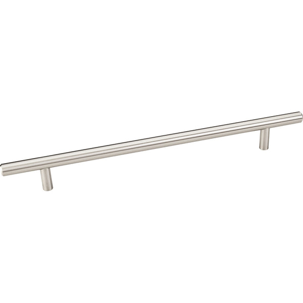 304mm Bar Round Plain Cabinet Pull with Beveled Ends Various Finishes