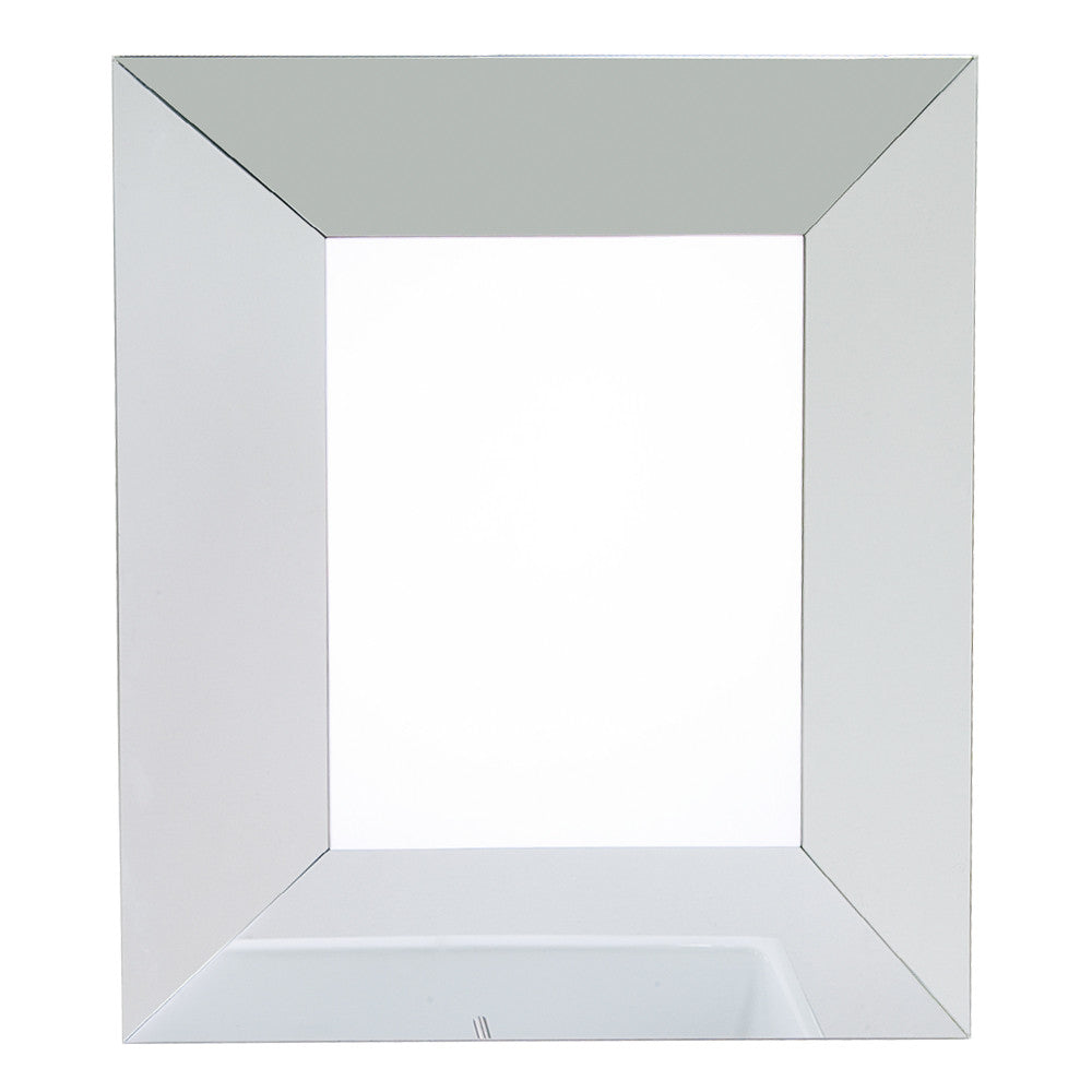 "24""W x 28-1/4""H Transitional Style Mirror Glass Finish"
