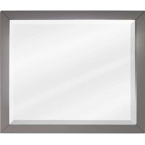 "33""W x 28""H Contemporary Style Grey Finish"