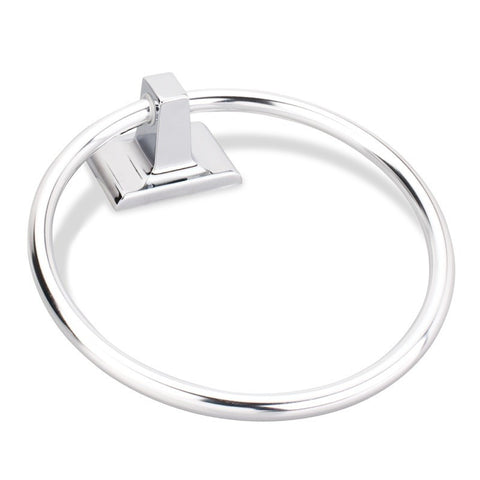 Traditional Style Towel Ring Polished Chrome Finish