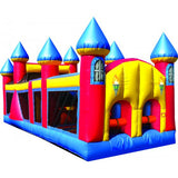 Castle Obstacle Course By Bounce Alot Albany NY