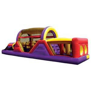 Bounce Alot Party & Event Rentals Obstacle Course