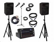 PA System 500-600 people