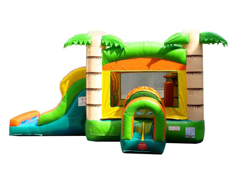 Kids Tropical Playland Combo Unit