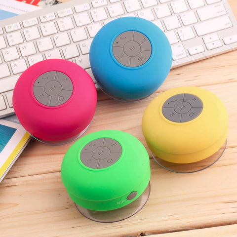 Suction Shower Speaker Waterproof Wireless - MorningWoodWatches