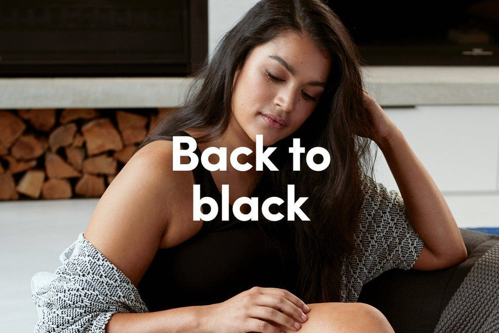 Black is the new black – explore this season's hottest colour