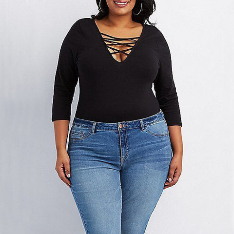 Bodysuit, plus size bodysuit, jeans