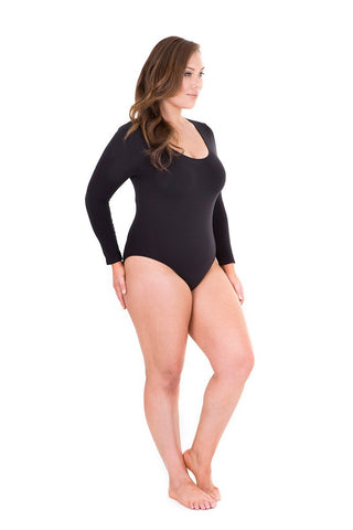 long sleeve bodysuit, bodysuit